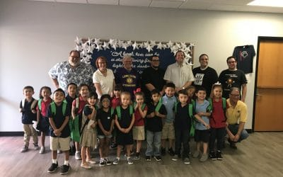 North Phoenix Lions Club donates Back to School supplies