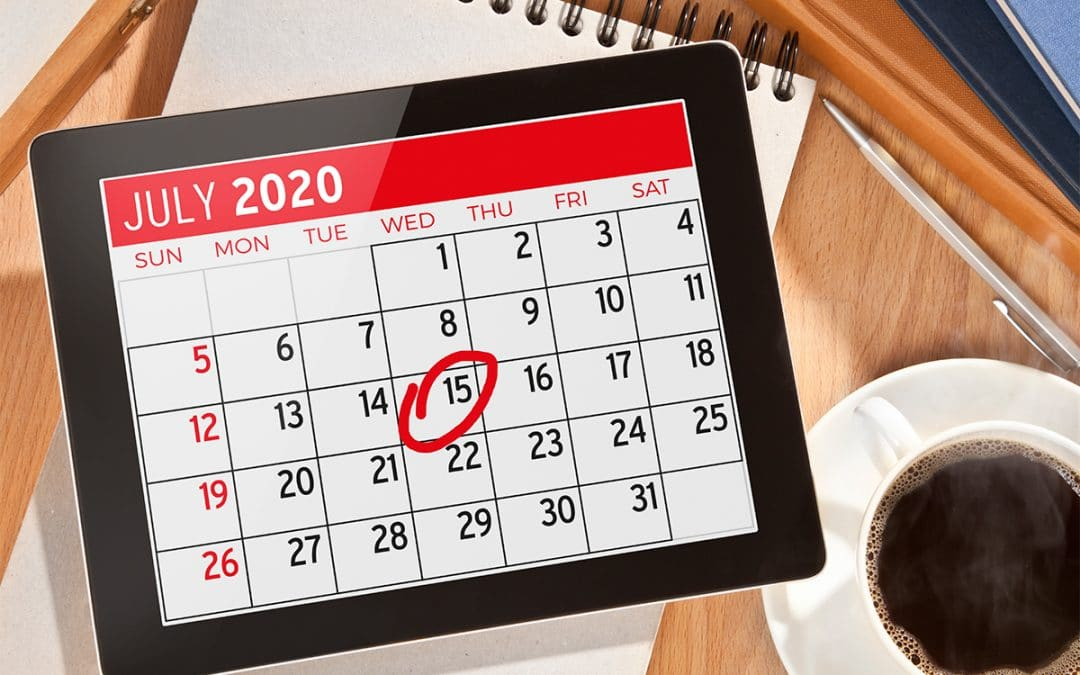 Tax Filing and Payment Deadlines Remain July 15, 2020