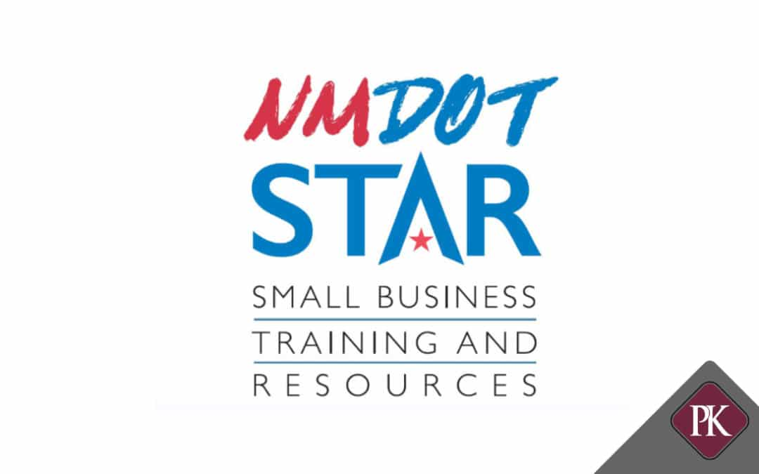 Price Kong Tax Manager Spencer Bunn Presents at NMDOT Small Business Training Program