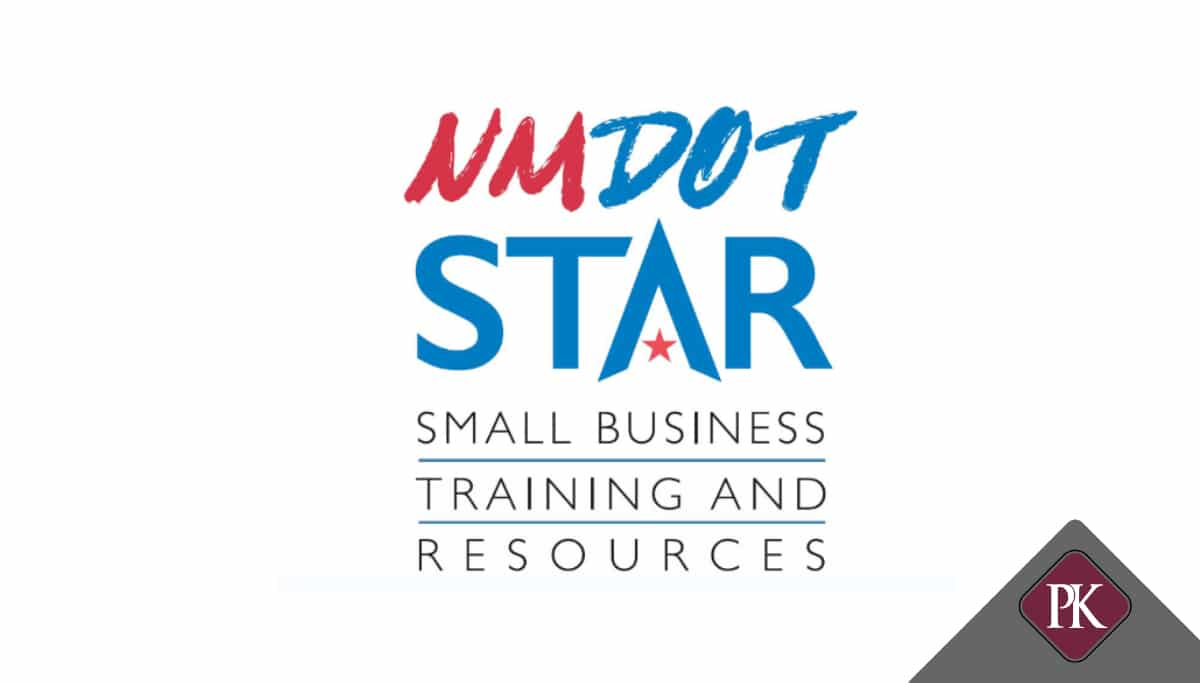 NMDOT Small Business Training Social Media Banner