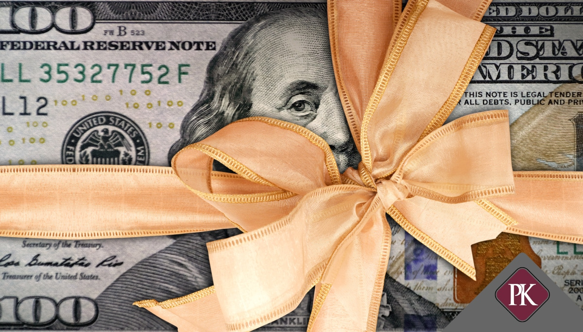 Dollar And Bow