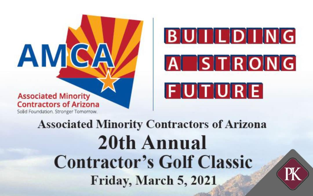 Price Kong Sponsors AMCA 20th Annual Contractor's Golf Classic