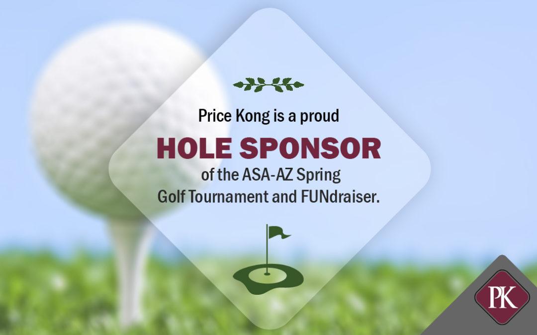Price Kong Sponsors American Subcontractors Association of Arizona (ASA-AZ) Golf Tournament and FUNdraiser