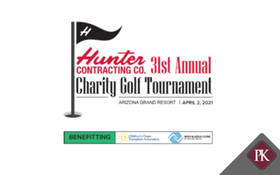 Price Kong Sponsors Hunter Contracting 31st Annual Charity Golf Tournament