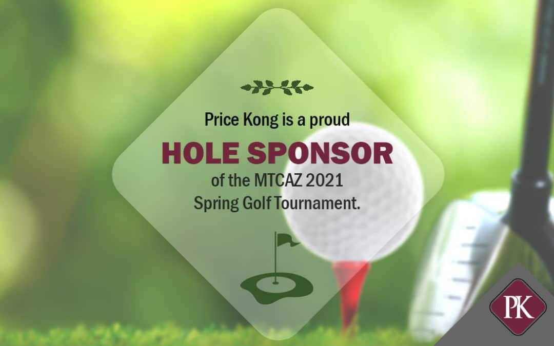 Price Kong Sponsors Mechanical Trade Contractors of Arizona 2021 Spring Golf Tournament